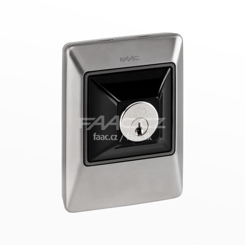 Klíčový spínač FAAC XK10 INOX (401044)