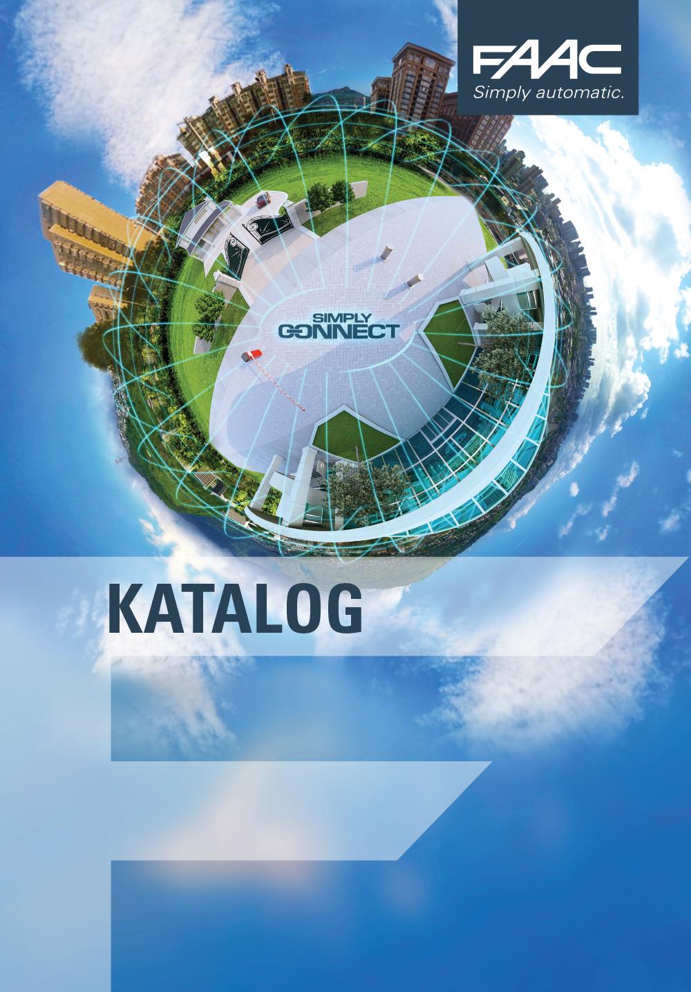 Katalog FAAC 2020