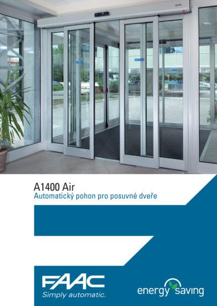 Leták FAAC A1400 Air