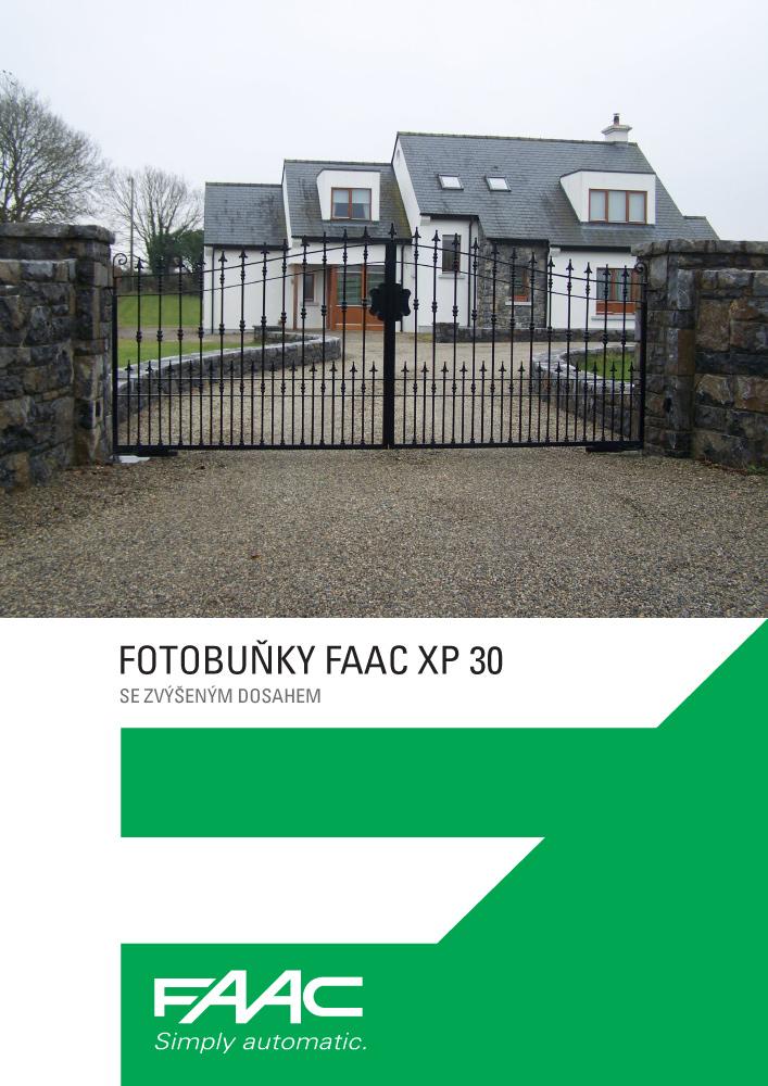 Leták FAAC XP30