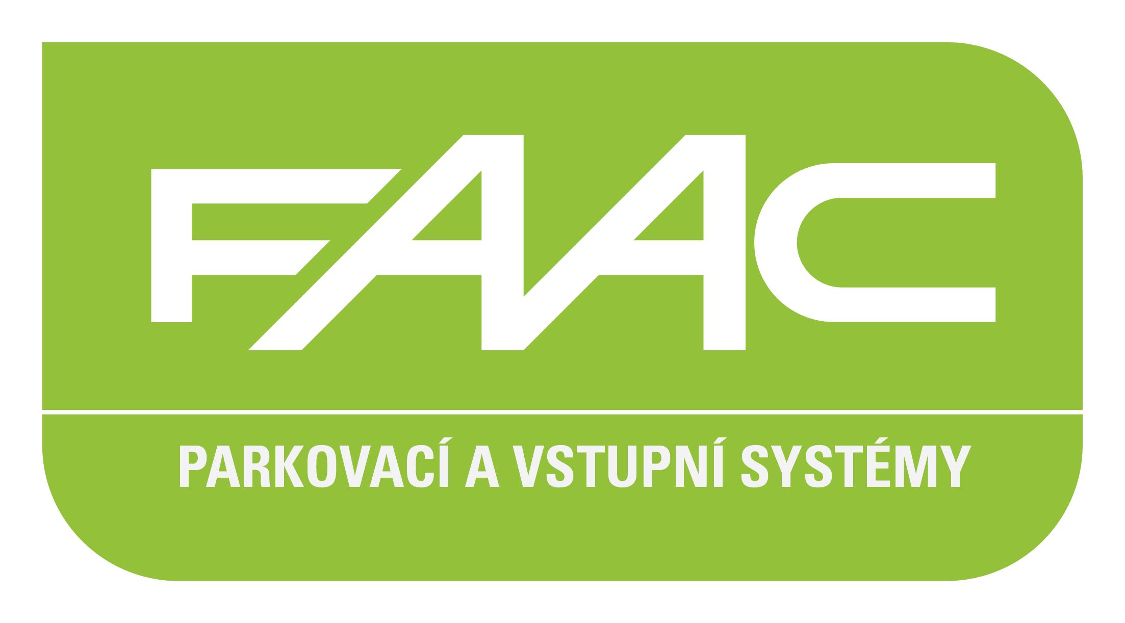 Parkovací a vstupní systémy FAAC